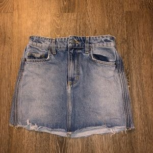 LF carmar denim skirt